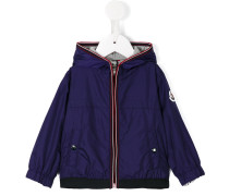 hooded jacket - kids - Polyamid/Baumwolle - 3-6