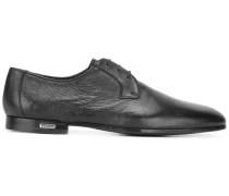 Derby-Schuhe mit strukturierten Akzenten