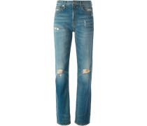 Jeans mit Distressed-Effekt