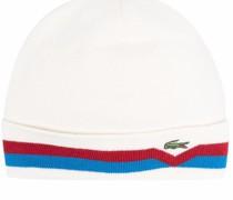 Mütze mit gestreiftem Rand