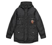 GG jacquard nylon jacket