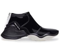 FFluid glossy sneakers