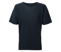 - Plissiertes T-Shirt - men - Polyester - 4