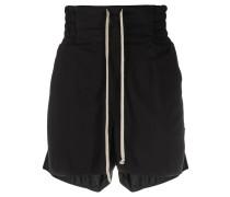 Shorts mit Reißverschlussdetail