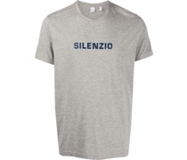 "T-Shirt mit ""Silenzio""-Print"