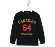 "Sweatshirt mit ""Canadian 64""-Print"