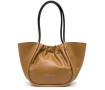 L Handtasche mit Raffung