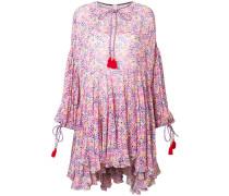 Kleid mit kleinem Blumenmuster