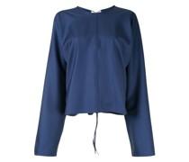longsleeved wool blouse
