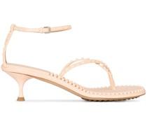 Sandalen mit Nieten 55mm