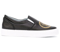 '#findmeinwonderland' Slip-On-Sneakers - women