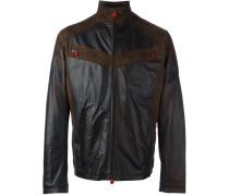 Lammleder-Jacke mit Reißverschluss
