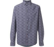 Hemd mit floralem Print - men - Baumwolle - 41