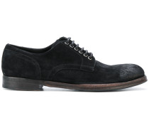 Derby-Schuhe in Distressed-Optik