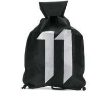 logo gym bag