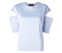 T-Shirt mit Schlitzen - women - Baumwolle - XS