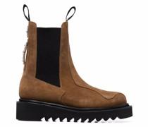 Chelsea-Boots aus Wildleder mit Nieten