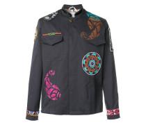 embellished cargo jacket
