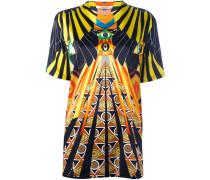 'Optical Wings' T-Shirt mit Print
