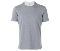 T-Shirt mit Kontrastabschlüssen - men