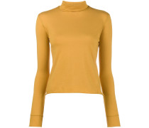 roll-neck jersey sweater