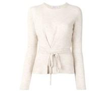 Pullover mit Knotenverschluss