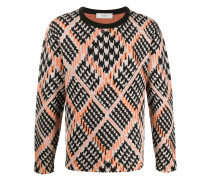 Pullover mit Prince of Argyle-Muster