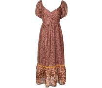 Jenna zebra-print dress