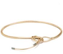 - Gürtel mit Knotenverschluss - women - Leder - M