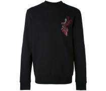 Sweatshirt mit aufgesticktem Papagei - men