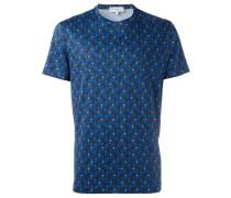 T-Shirt mit Motorrad-Print - men - Baumwolle - S