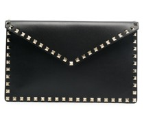 Rockstud envelope clutch