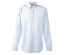 Fil-Coupé-Hemd mit Schlangenstickerei - men