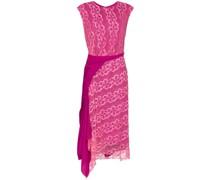 Anita lace asymmetric midi dress