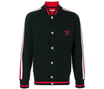 star motif bomber jacket