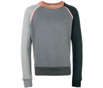 Sweatshirt mit Kontrastpaspeln