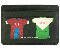 Kartenetui mit 'Sport-Shirt'-Print