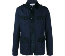 Jacke mit aufgesetzten Taschen