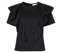 T-Shirt mit gerüschten Details
