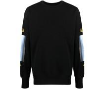 Sweatshirt mit Knochen-Print