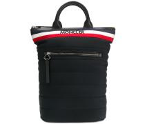 logo padded backpack