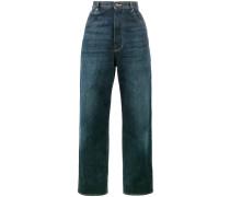 Boyfriend-Jeans mit hohem Bund - women