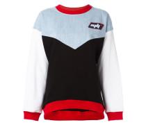 - Sweatshirt in Colour-Block-Optik - women
