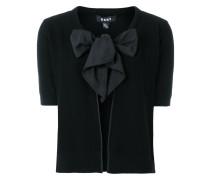 Tie neck cardigan