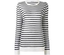 - striped T-shirt - women - Leinen/Flachs/Viskose
