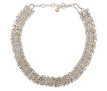 Zweifarbige Halskette