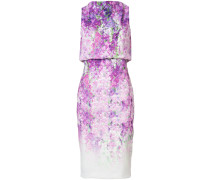 - Kleid mit Orchideen-Print - women