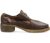 Oxford-Schuhe mit Kontrastnaht