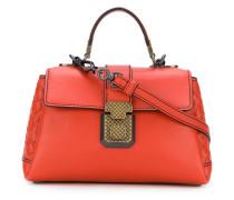 mini buckled shoulder bag