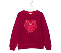 'Tiger' sweatshirt - kids - Baumwolle/Polyester
